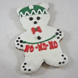 XL Christmas Teddy Bear Dog Treat