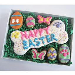 XL Happy Easter Dog Treat Assortment