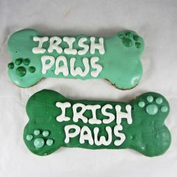 XL St. Patrick's Day Dog Bone Treat