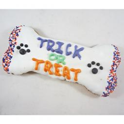 XL Trick or Treat Dog Bone Treat