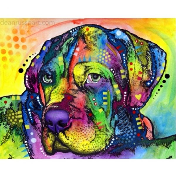 Mastiff Pup Print by Dean Russo - ONLY 1 LEFT