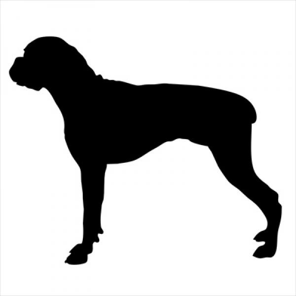 Boxer Small Decal