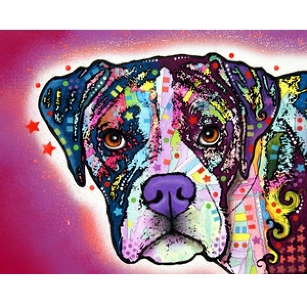 The Boxer Print by Dean Russo - Discontinued