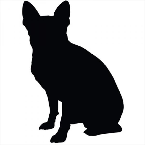 Chihuahua Small Decal