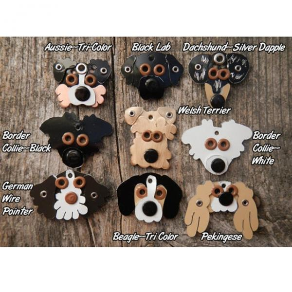 Build Your Own Metal Rivet Charm (multiple breeds)