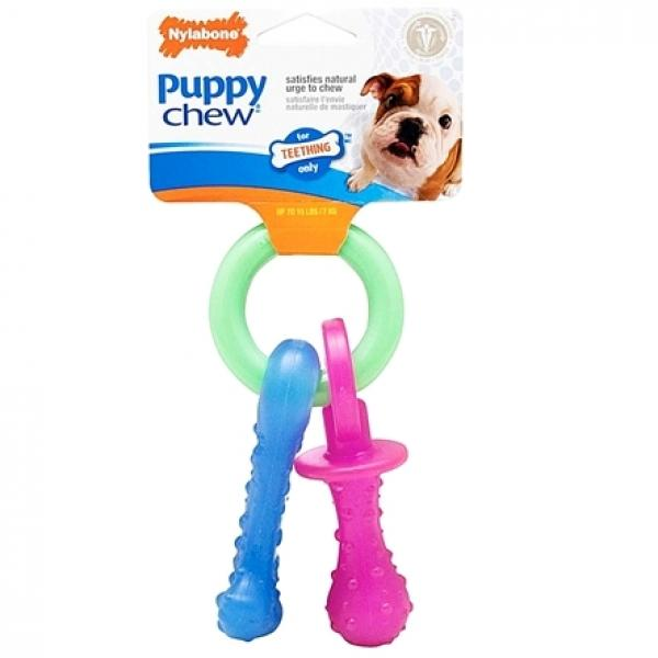 Nylabone Puppy Pacifier Ring