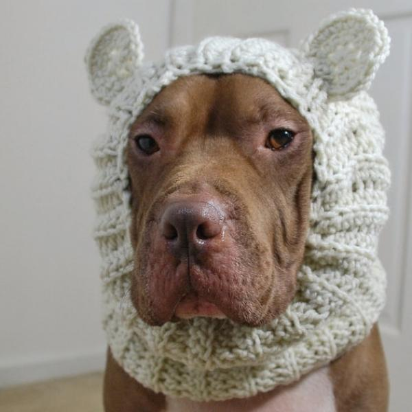 Polar Bear Crochet Snood