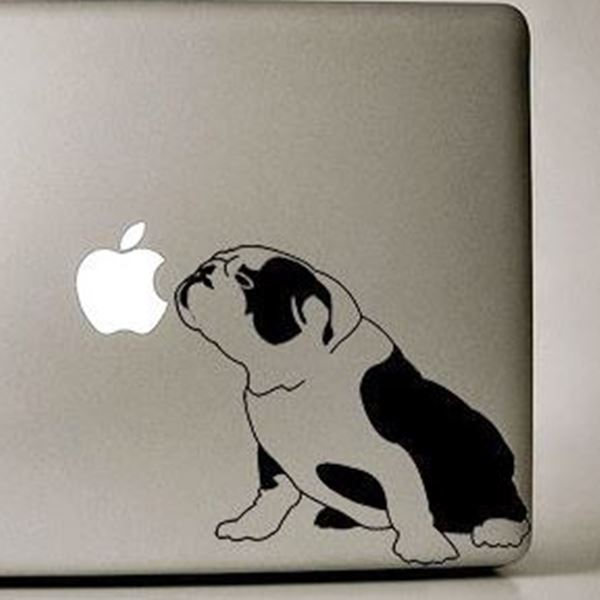 Large Dog Sitting In Car Window Decal Sticker