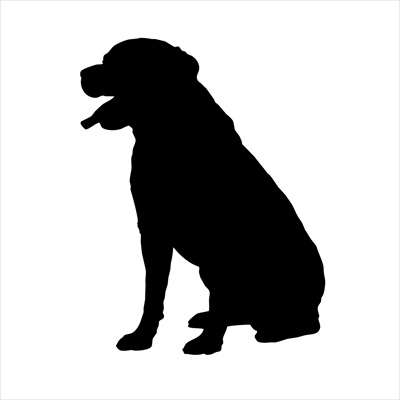 Rottweiler Small Decal