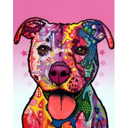 Cherish the Pit Bull Dean Russo Print - ONLY 1 LEFT