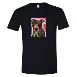 Dean Russo The Color of My Skin Pit Bull Unisex T-Shirt