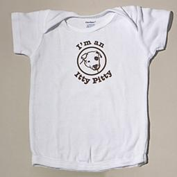 I'm An Itty Pittie Baby 12-Month T-Shirt