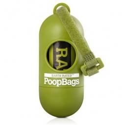 Earth Rated Poop Bags & Green Leash Dispenser + 15 Free Bags