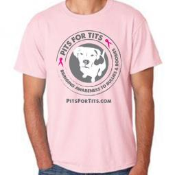Pits For Tits Unisex T-Shirt (multi colors)