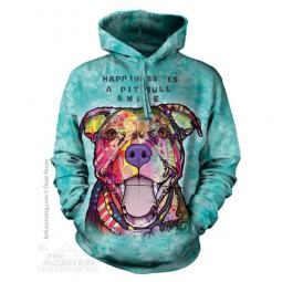 Pit Bull Smile Dean Russo Unisex Hoodie